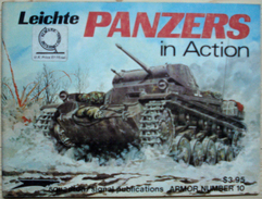 Squadron/Signal Publications - Leichte Panzers In Action - Oorlog 1939-45
