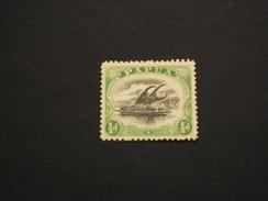 PAPUA - 1908/10 LAKATOI  1/2 P. - TIMBRATO/USED - Papua Nuova Guinea