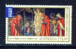 AUSTRALIA  -  2012  Christmas  $1.60  International Post  Sheet Stamp  Used As Scan - 2010-... Elizabeth II