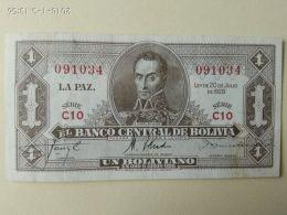 1 Boliviano 1928 - Bolivia