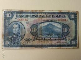 10 Bolivianos 1928 - Bolivia
