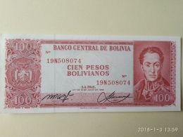 100 Bolivianos 1962 - Bolivia