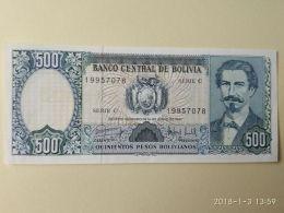 500 Bolivianos 1981 - Bolivia