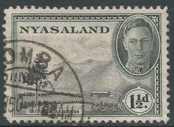 Nyasaland. 1945 KGVI. 1½d Used. SG 146 - Nyasaland (1907-1953)