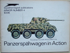 Squadron/Signal Publications - Panzerspähwagen In Action - Oorlog 1939-45
