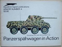 Squadron/Signal Publications - Panzerspähwagen In Action - Guerre 1939-45