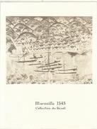 Menu Bateau Paquebot RENAISSANCE Illustration Marseille 1543 Collection Du Serail - Barcos