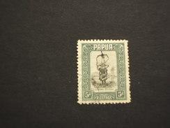 PAPUA - 1932 COSTUME 5 P. - TIMBRATO/USED - Papua Nuova Guinea