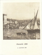 Menu Bateau Paquebot RENAISSANCE Illustration Marseille 1880 L Gautier - Barcos