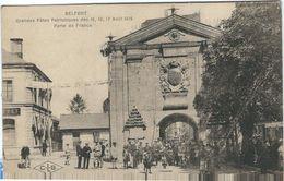 Territoire De Belfort, Belfort,  Grandes Fetes Patriotiques D'Aout 1919, Porte De France - Belfort - Stadt