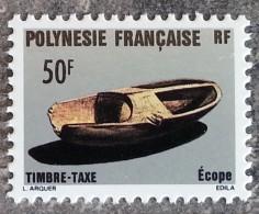 Polynésie - YT Taxe N°9 - Artisanat - 1987 - Timbres-taxe