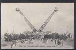Exhibition Postcard  Flip-Flap, Franco-British Exhibition, London, 1908 -  DC1045 - Expositions