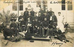 CARTE PHOTOS  RARE ROCHEFORT SUR MER SOUVENIR DE HOPITAL LE 20/10/1914 HENRI  D17  VOIR IMAGES - Oorlog 1914-18