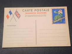 FRANCE - Carte FM Avec Publicité Boldoflorine , Non Voyagé - L 11124 - Cartes De Franchise Militaire