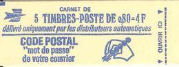 FRANCE - BOOKLET / CARNET, Yvert 1816-c1, 1974, 10x0.60 Marianne De Béquet - Booklets