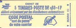 FRANCE - BOOKLET / CARNET, Yvert 1816-c1, 1974, 10x0.60 Marianne De Béquet - Libretti