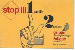 Buvard Stopill. 2 Actions Grippe Antiseptique Biologique, Fatigue Vitamine C. (Médicaments, Pharmacie) - Drogheria