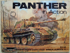 Squadron/Signal Publications - Panther In Action - Guerre 1939-45