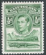 Basutoland. 1938 KGVI. ½d MH SG18 - Basutoland (1933-1966)