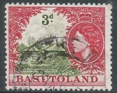 Basutoland. 1954-58 QEII. 3d Used SG46 - Basutoland (1933-1966)