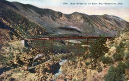 Colorado - High Bridge On The Loop Near Georgetown - Etats-Unis