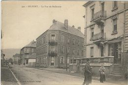 Territoire De Belfort, Belfort, La Rue De Mulhouse - Belfort - Ville