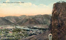 Colorado - Bird's Eye View Of Golden - Etats-Unis