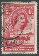 Bechuanaland Protectorate. 1955-58 QEII. 1d Used SG 144 - Bechuanaland (...-1966)