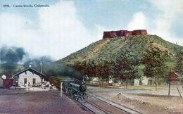 Colorado - Castle Rock - Train à Vapeur - Gare - Etats-Unis