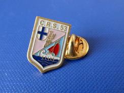 Pin's Police CRS 53 Marseille - Blason écusson (KB50) - Police