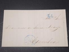 PORTUGAL - Lettre Ancienne , Cachet De Lisboa - L 11129 - ...-1853 Préphilatélie