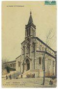 Cpa Gard, Bessèges - L'église ( Rémouleur Petit Plan ) - Bessèges