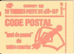 FRANCE - BOOKLET / CARNET, Yvert 1816-c3, 1974, 12 Stamps UNPRINTED - Carnets