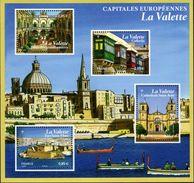 """La Feuille F5125 """"CAPITALES EUROPEENNES. LA VALETTE"""" Luxe Bas Prix, A SAISIR. - Feuilles Complètes"""