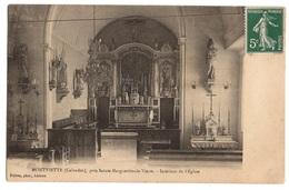 14 CALVADOS - MONTVIETTE Intérieur De L'Eglise (voir Descriptif) - France