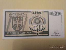 50 Dinari 1992 - Bosnia Erzegovina