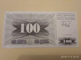100 Dinari 1992 - Bosnia Erzegovina