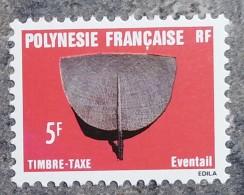 Polynésie - YT Taxe N°6 - Artisanat - 1984 - Timbres-taxe