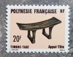 Polynésie - YT Taxe N°8 - Artisanat - 1987 - Timbres-taxe