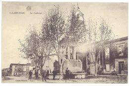 Cpa Gard, Clarensac - La Fontaine ( Animée ) - France
