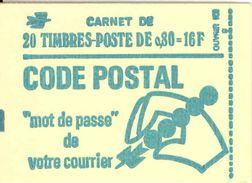 FRANCE - BOOKLET / CARNET, Yvert 1893-c1a, 1976, 20 X 0.80 Marianne De Béquet - Carnets
