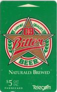 New Zealand - Db Bitter Beer - Advertising Cards - 10.000ex, 1992, Used - New Zealand