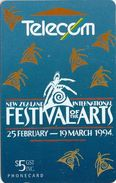 New Zealand - Arts Festival - Event Cards - ADCB - 1994, 16.500ex, Used - New Zealand