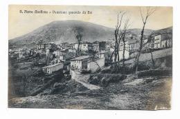 S.PIETRO AVELLANA - PANORAMA GENERALE DA EST  VIAGGIATA  FP - Isernia