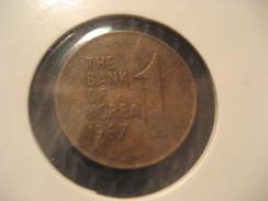 1 KOREA 1967 Coin - Korea, South