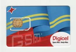 ARUBA Digicel GSM SIM MINT - Aruba