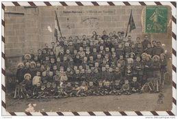 3AB135 SAINT SERVAN OEUVRE DE VACANCES CARTE PHOTO  2 SCANS - Saint Servan