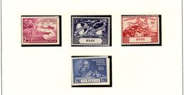 FIJI.  UPU  1949  #141 - 144  MNH - Fidschi-Inseln (...-1970)