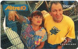 New Zealand - Lyn & Gary Of Tawa - Advertising Cards - 20.000ex, 1993, Used - New Zealand