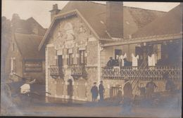 44-ANCENIS-CARTE PHOTO-Inondations Décembre 1910-Place Du Millénaire-Villa LE REVE... Animé - Ancenis